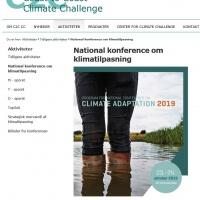 National konference om klimatilpasning